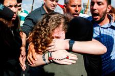 Filistin direnişinin sembolü 'cesur kız' serbest kaldı!