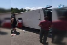 Antalya'da tur otobüsü kaza yaptı! Ölü ve yaralılar var