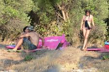 Kadir Doğulu Neslihan Atagül çiftinin ıssız kamp romantizmi!