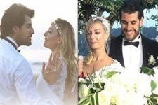 Özge Özder ile Sinan Güleryüz evlendi