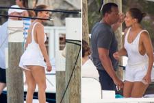 Derin dekolte! Jennifer Lopez az daha frikik veriyordu