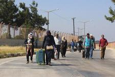 Bayram ziyaretine giden Suriyelilerden 3 bini dönmedi!