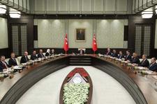Erdoğan Beştepe'de kabineyi topladı