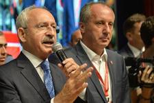Kılıçdaroğlu'ndan İnce'ye 'bu işi örgüt çözer' yanıtı
