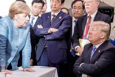 Merkel'den Trump'a savaş tehdidi!