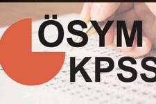 KPSS ortaöğretim 2018 sınavı ne zaman ÖSYM sınav takvimi