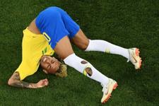 Neymar Dünya Kupası'nda yerden kalkmıyor