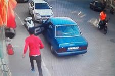 Hırsız paraları havaya saçarak kaçtı!