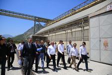 Vali Karaloğlu ve Başkan Türel Serbest Bölge ek alanını inceledi