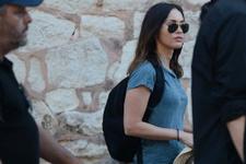 Megan Fox önce şoförünü yolladı sonra Türk yemeği yedi