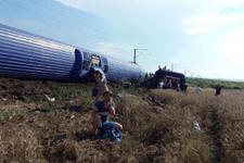 Tren kazasıyla ilgili Başbakanlık'tan açıklama! Aşırı yağışlar...