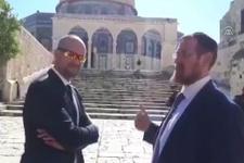 İsrailli vekillerden Mescid-i Aksa'ya baskın! Provokasyon...