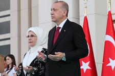 Erdoğan Külliye'de hitabına dua ile başladı