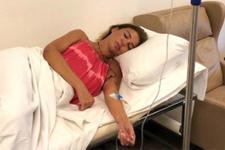 Gülben Ergen hastaneye kaldırıldı