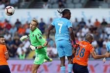 Başakşehir-Trabzonspor maçı golleri ve özeti