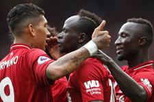Liverpool lige 4 golle başladı