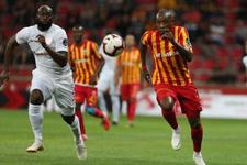 Kayserispor Antalyaspor'u devirdi