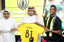 Eto'o yeni takımına imzayı attı!