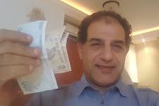 İtalyan iş adamı 228 bin dolarını Türk lirasına çevirdi