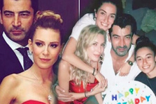 Kenan İmirzalıoğlu'ndan Sinem Kobal'a sürpriz parti! Dikkat çeken isim
