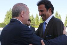 Katar Emiri mesaj verdi Erdoğan paylaştı