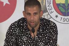 Fenerbahçe'nin yeni transferi Slimani imzayı attı