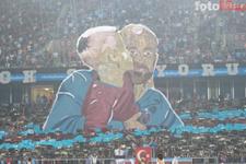 Trabzonspor'dan hüzünlü koreografi