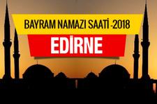 Edirne bayramı namaz saati 07:09 - Diyanet tam listesi