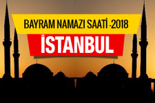 İstanbul bayramı namaz saati 2018 Diyanet listesi