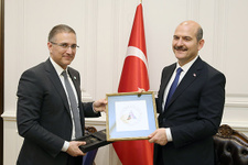 İçişleri Bakanı Soylu, Sırp mevkidaşı ile görüştü