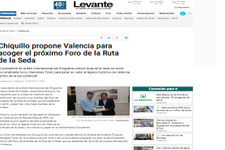 Türel-Chiquillo görüşmesi İspanyol basınında geniş yer tuttu
