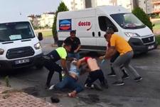 Ayağı kırık dövüşçü kendisine yardım eden sağlıkçıyı dövdü!