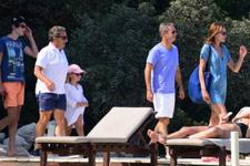 Sarkozy eşiyle birlikte Bodrum'da tatil yaptı!