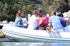 Nicholas Sarkozy ile dünyaca ünlü şarkıcı eşi tatil için Bodrum'u tercih etti