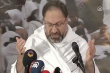 Diyanet İşleri Başkanı Ali Erbaş Vakfe Duası yaptı