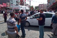 Samsun'da 100 kişi birbirine girdi!