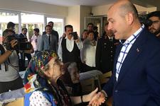 İçişleri Bakanı Soylu huzurevi sakinleriyle bayramlaştı