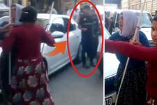 Polis memuru kavgayı telefonla çekerim diyerek ayırabildi