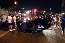 E-5'i kilitleyen kaza: Trafik durdu!