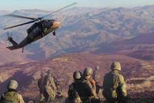 PKK'ya ağır darbe mühimmat deposu havaya uçuruldu