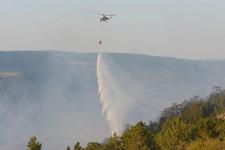 Kastamonu'daki yangın 18 saatte söndürüldü! 20 hektar yandı...