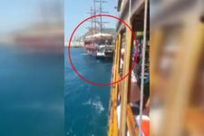 Tekneler bilerek çarpıştı, tatilciler dehşeti yaşadı! Çok sayıda gözaltı var...