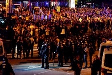 Cinayet sonrası Chemnitz'te tansiyon yüksek