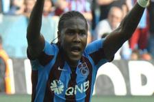 Trabzonspor'da Hugo Rodallega kendini aştı!