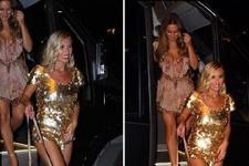İngiliz yıldız Billie Faiers'den Ibiza'da tulum şov