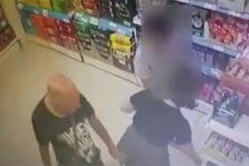 12 yaşındaki çocuğu markette taciz etti!