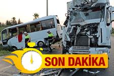 Antalya'da feci kaza! Çok sayıda Rus turist yaralı...