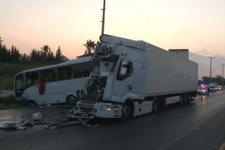 Antalya'da feci kaza! Çok sayıda Rus turist yaralı