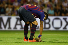 Valladolid-Barcelona maçına zemin damgası