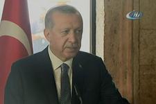 Erdoğan'dan Anıtkabir'de mesaj: Saldırılar hedefimizden alıkoyamacak